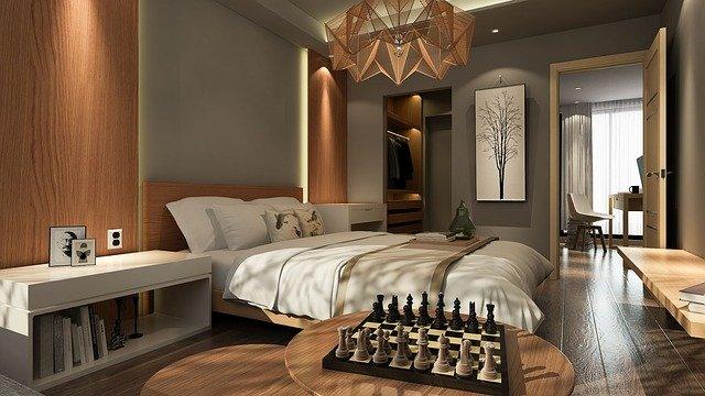 ložnice, šatní skříň