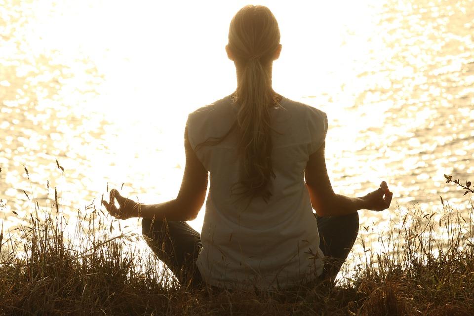 meditace u vody